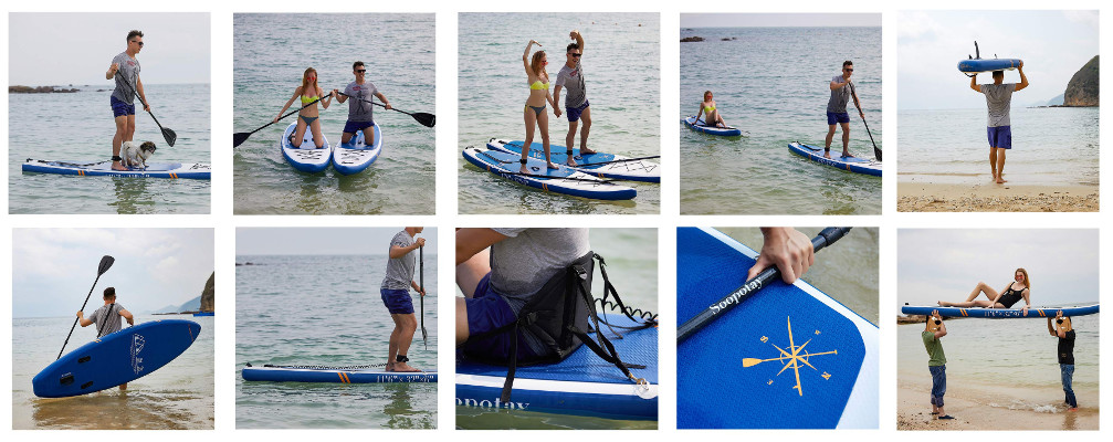 SOOPOTAY inflatable SUP Board