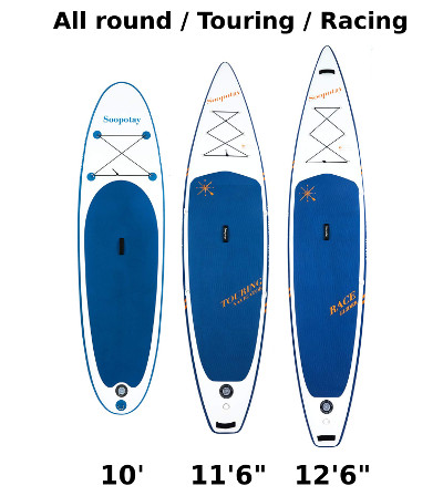 SOOPOTAY inflatable paddle board review