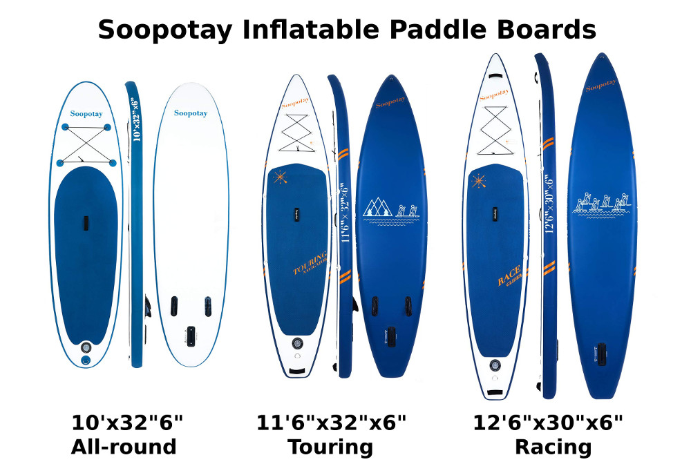 SOOPOTAY inflatable stand up paddle boards Review