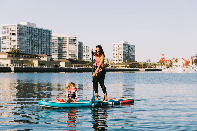 ISLE Pioneer inflatable SUP Board Review