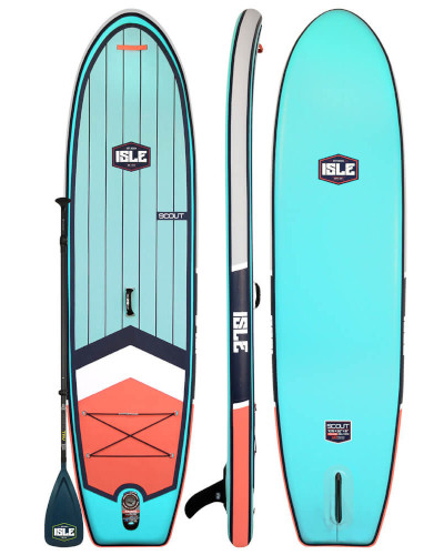 """ISLE 10'6"""" Scout inflatable SUP Review"""