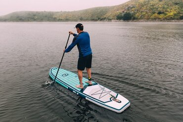 ISLE Scout inflatable paddleboard review